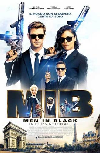 Men in Black - International poster ita