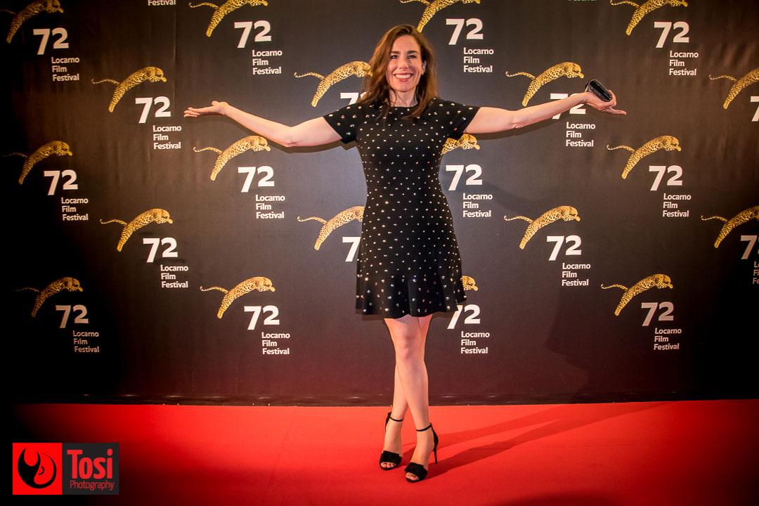 Halina Reijn, regista di Instinc, sul red carpet © Tosi Photography