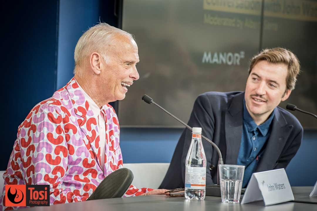 John Waters in conversazione col pubblico di Locarno 72 © Tosi Photography