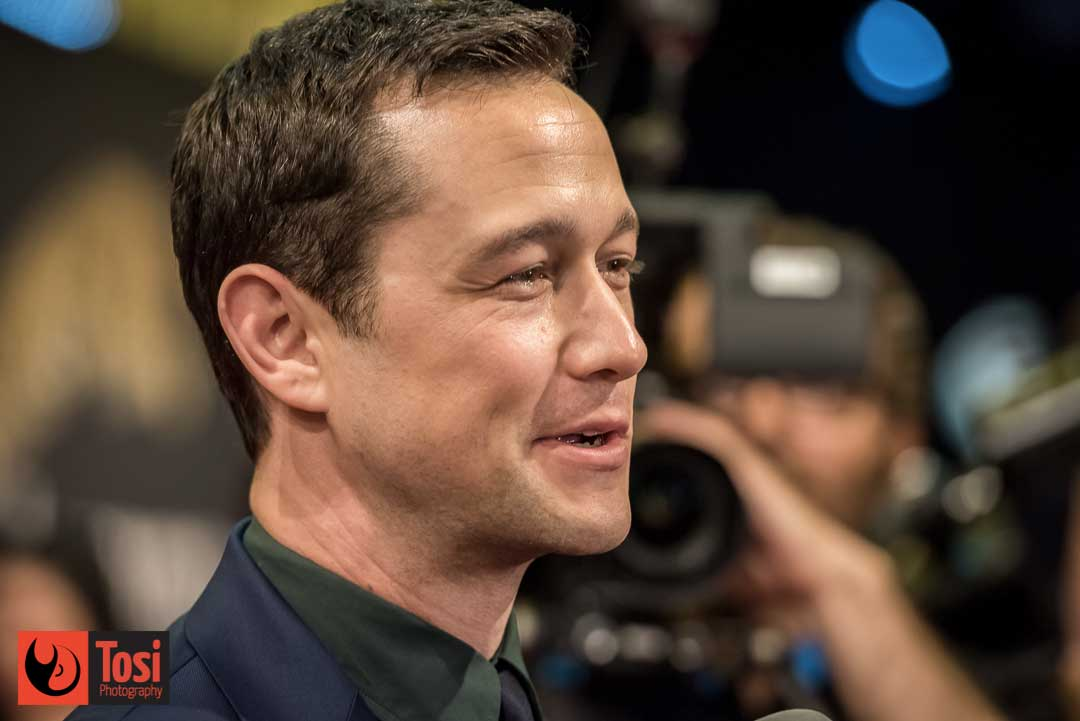 Joseph Gordon-Levitt in Piazza Grande a Locarno - Photo © Tosi Photogrphy