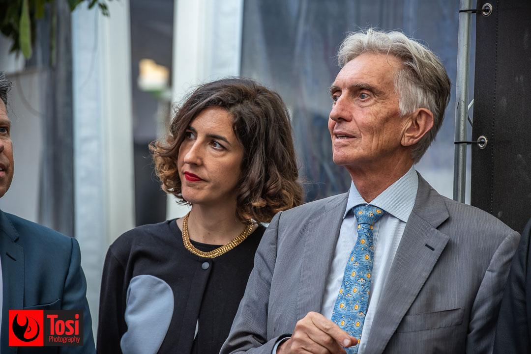 Tosi Photography© Lili Hinstin e Marco Solari alla cerimonia di apertura di Locarno 72