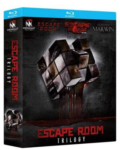 Escape Room Trilogy: cofanetto blu-ray