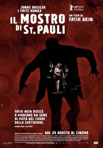 La locandina italiana del film Il Mostro di St. Pauli