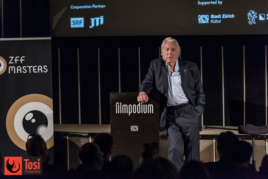ZFF2019 Donald Sutherland Marsterclass - Photo by Tosi Photography