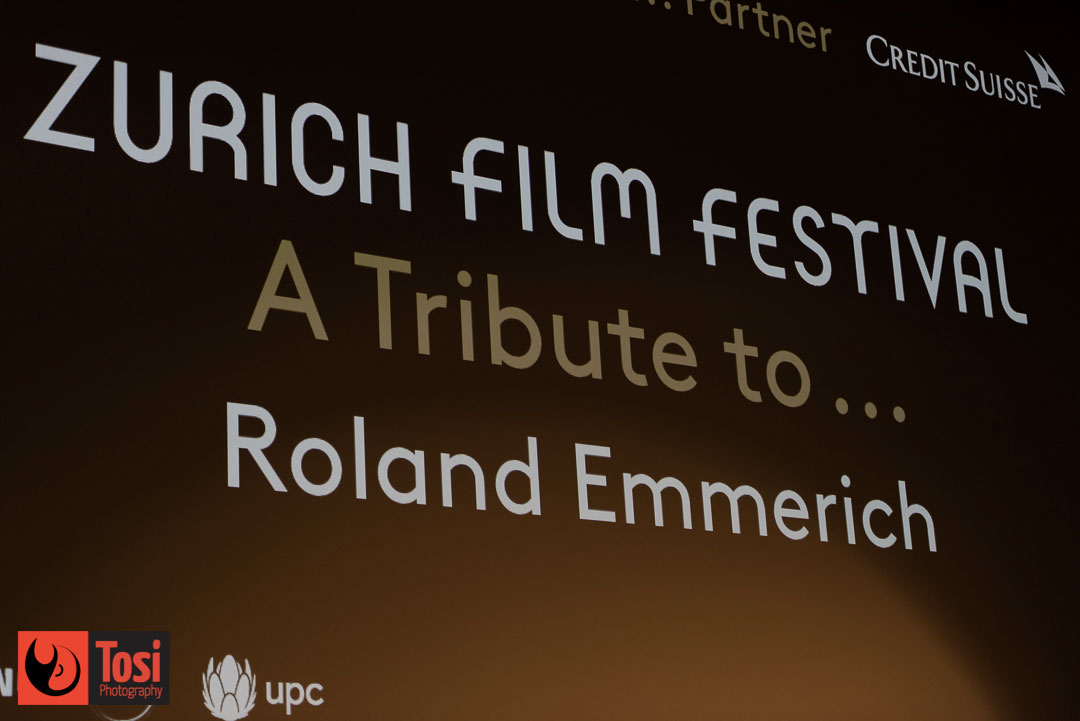 ZFF2019 Tribute award to Roland Emmerich - Photo by Tosi Photography