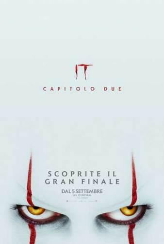 Il poster Italiano del film IT 2