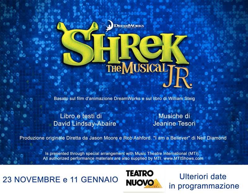 Pronti alle audizioni per Shrek il Musical Jr.?