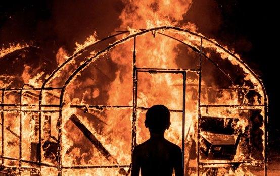 Una scena di Burning - Photo: courtesy of Tucker Film