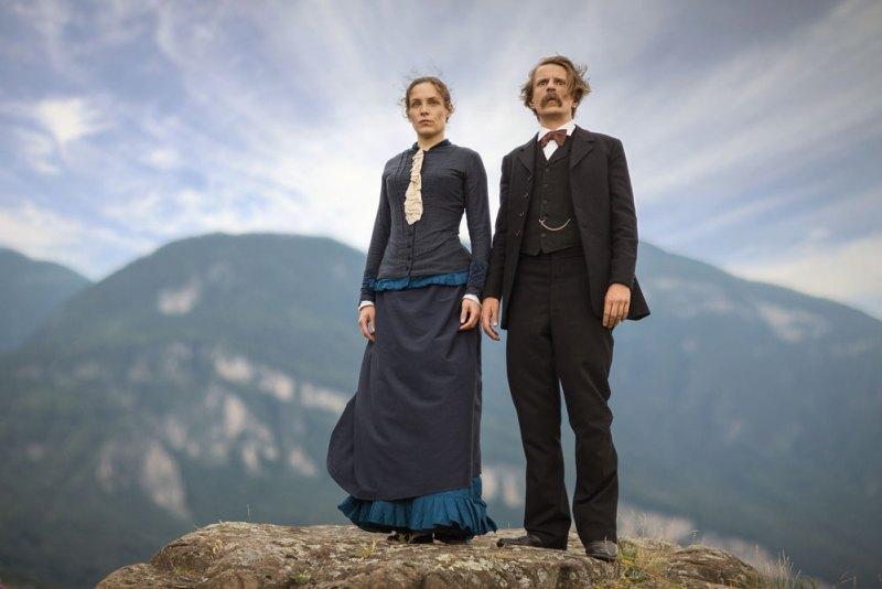 Alexander Scheer e Katharina Lorentz in una scena del film Lou von Salomé - Photo: courtesy of Wanted Cinema