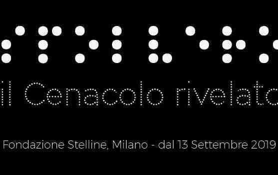 Immagine di copertina della mostra Spolvero Il Cenacolo rivelato alla Fondazione Stelline.