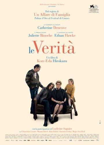 La locandina italiana del film Le verità