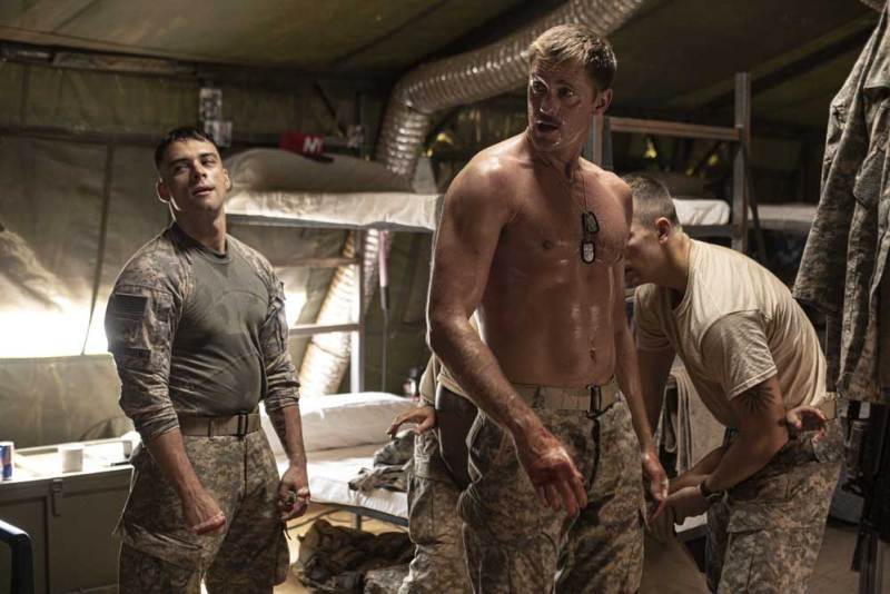 Alexander Skarsgård in una scena del film The Kill Team - Photo: courtesy of Eagle Pictures