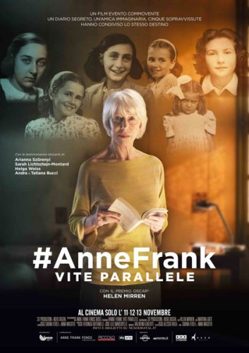 #AnneFrank Vite Parallele poster film