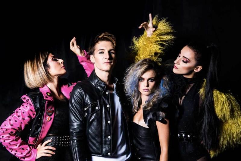 Giada D'Auria (Il Gatto), Jordan Carletti (Pinocchio), Silvia Scartozzi (Lucignolo), Jessica Francesca Lorusso (La Volpe) - Photo by Attlio Marasco