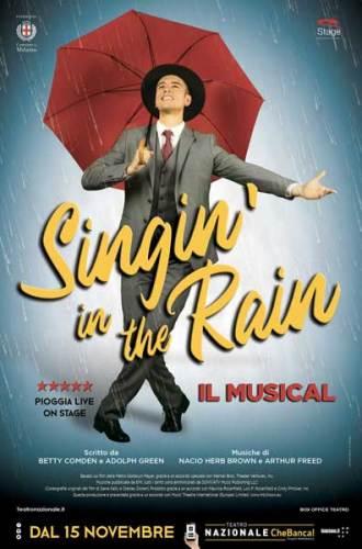 Singin' in the rain il musical - poster
