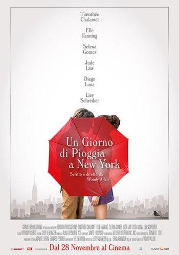 Un Giorno di Pioggia a New York poster film