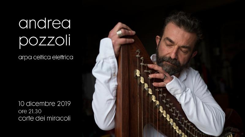 Andrea Pozzoli alla Corte dei Miracoli - Foto di Sergio Bernini