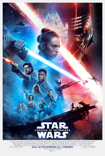 il poster italiano del film Star Wars: l'Ascesa di Skywalker