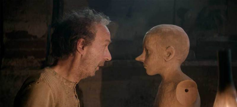 Roberto Benigni in una scena del film Pinocchio (2019) - Photo: courtesy of 01 Distribution