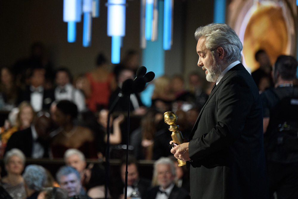 Golden Globe 2020: Sam Mendes - Photo: HFPA