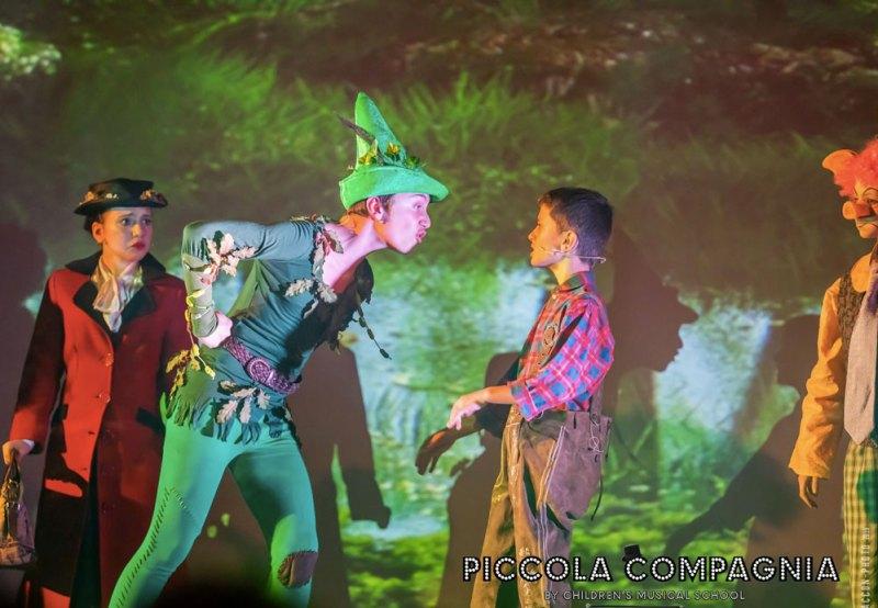 Giovani performer interpretano i Personaggi delle Fiabe. Photo: Alberto Fraccon.