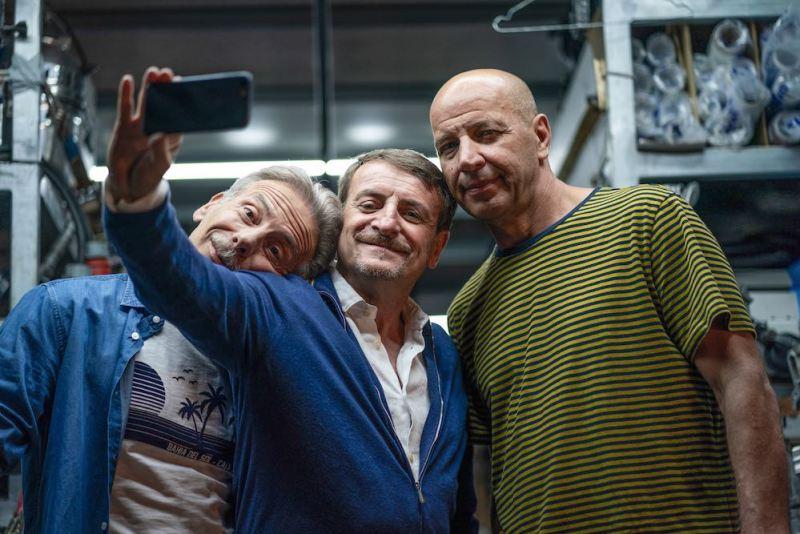 Arriva al cinema ODIO L'ESTATE con Aldo, Giovanni e Giacomo © Paolo Galletta
