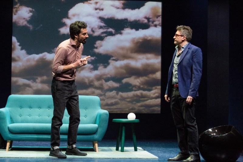 Una scena dello spettacolo La prova. Foto © Laila Pozzo.