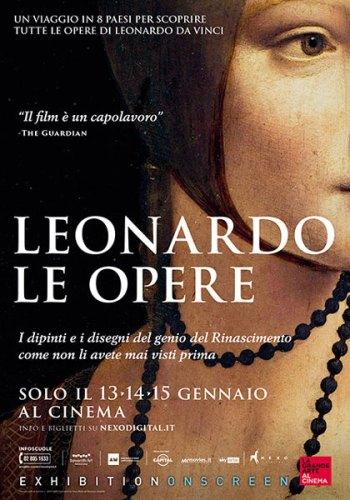 LEONARDO LE OPERE poster film