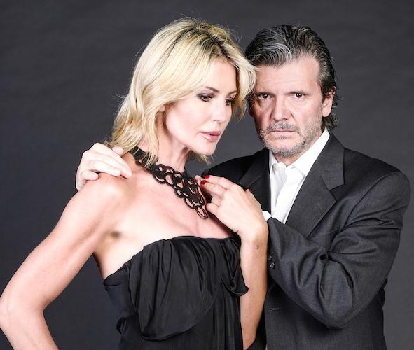 Nathalie Caldonazzo e Francesco Branchetti in Parlami d'amore.