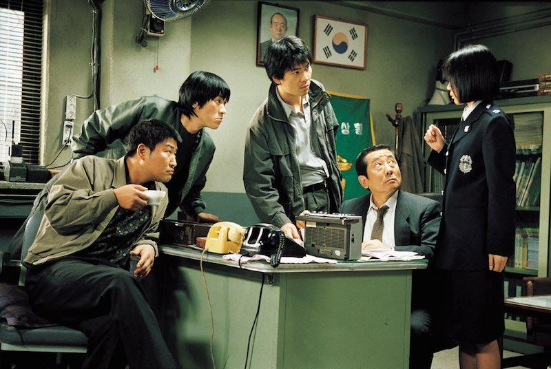 Una scena del film Memorie di un assassino. Photo: courtesy of Academy Two