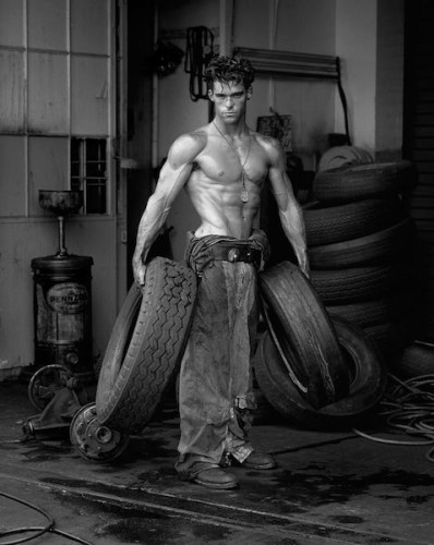 HERB RITTS, Fred with Tires - Bodyshop Series