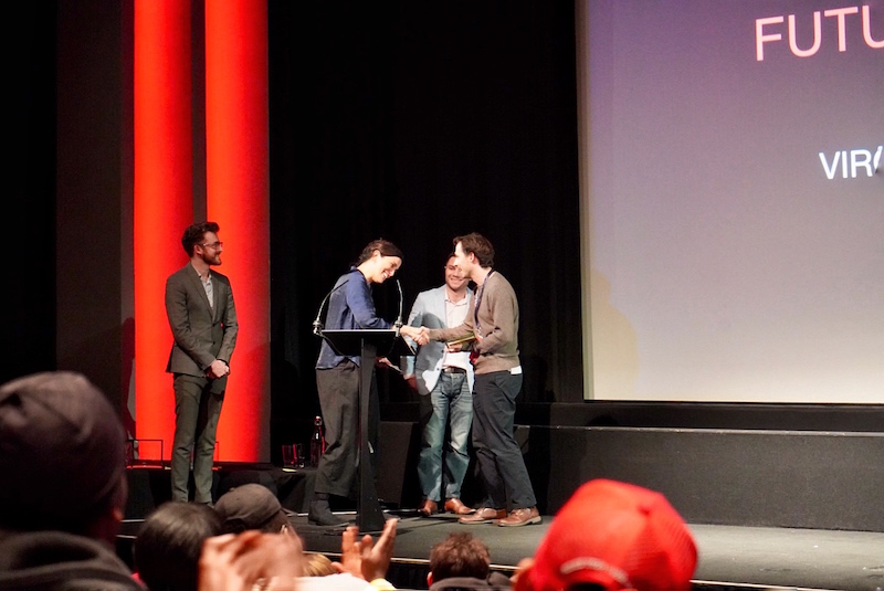BFI Future Film - La premiazione di Virginia come Future Film Lab Award - Alessandra del Forno ©