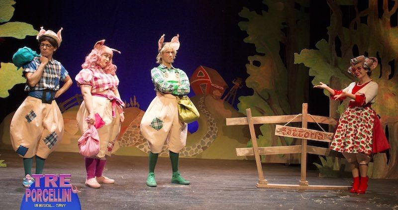 I Tre porcellini un musical curvy... con la mamma!