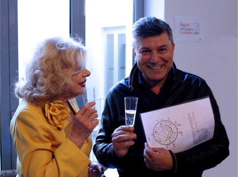Sandra Milo con Mauro Morellini