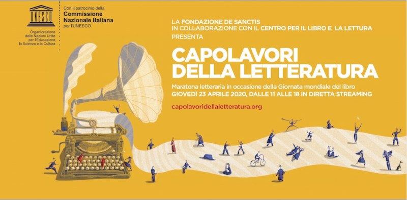 Maratona letteraria in streaming