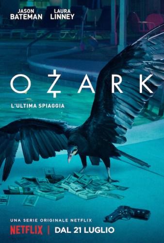 La locandina italiana della prima stagione di OZARK