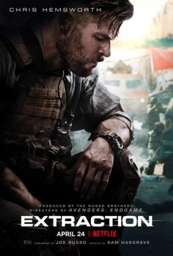 Tyler Rake poster internazionale film Netflix