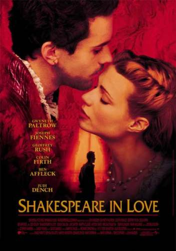 La locandina del film Shakespeare in Love