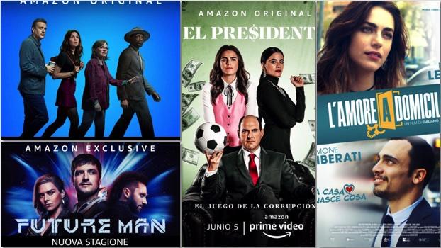 novità su Amazon Prime Video a giugno
