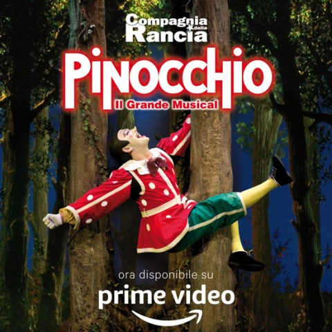 Pinocchio il grande musical su Amazon Prime Video