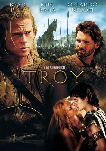 film Troy poster italiano