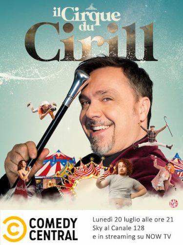 Cirque du Cirill_ poster Comedy courtesy of press office