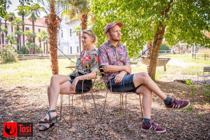 La produttrice Nicole Boner insieme al regista Jonas Ulrich © Tosi Photography.