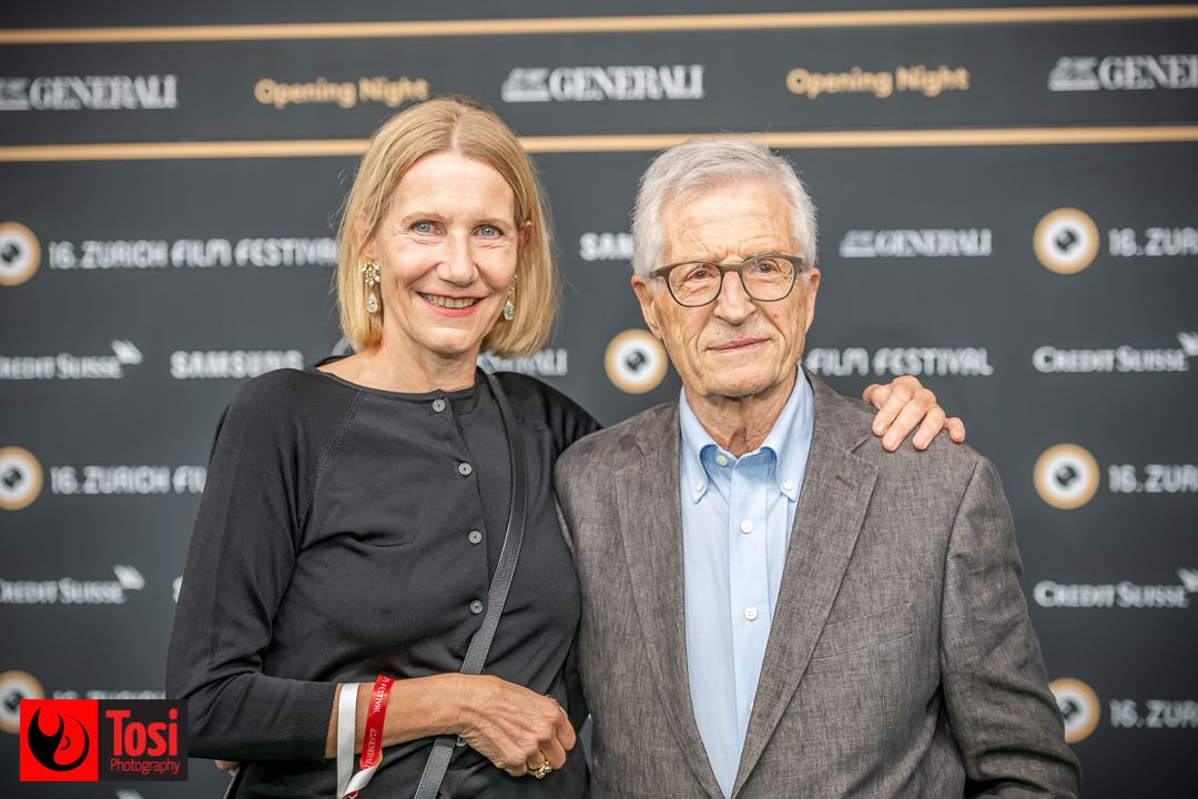 Zurich Film Festival 2020 - Movie director Rolf Lyssy and partner © Tosi Photography
