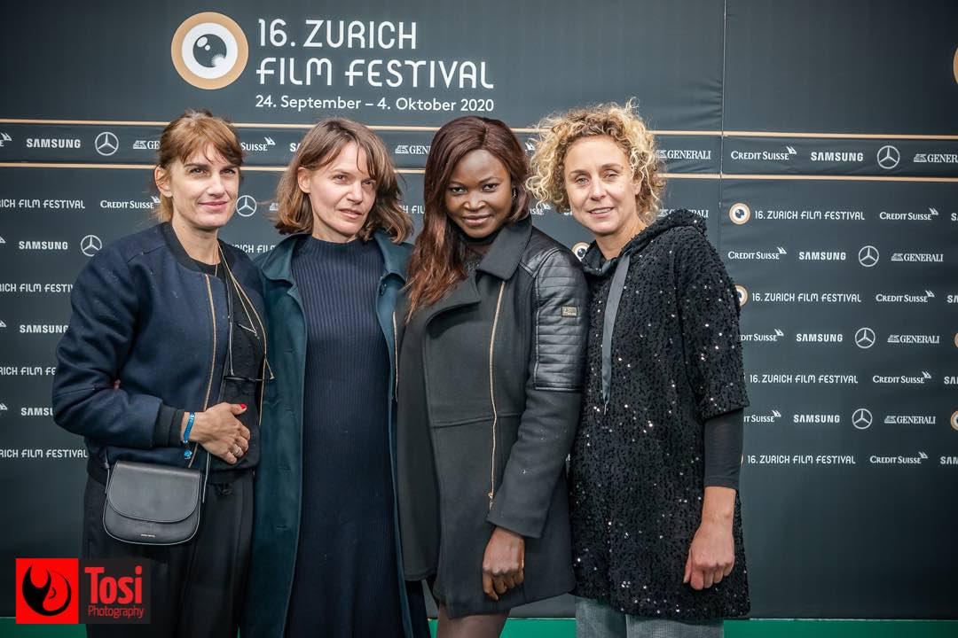 ZFF 2020 - Michaela Pini, director Nina Stefanka, Balkissa Maiga and Cecile Welter © Tosi Photography