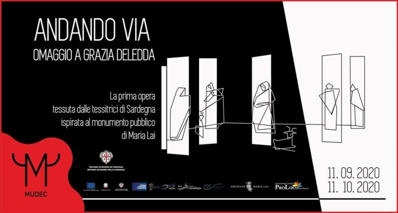 Tra le mostre dedicate alle arti tessili a Milano anche Andando Via al MUDEC