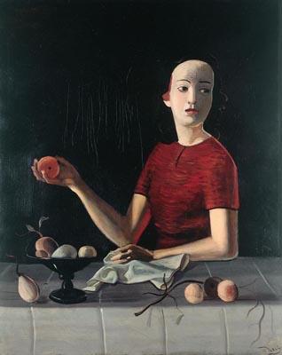 André DERAIN Geneviève à la pomme © 2020, ProLitteris, Zurich