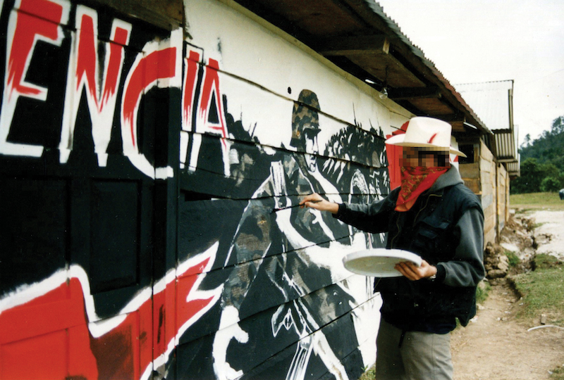 Banksy in Mexico - Photo courtesy of Adler Entertainment