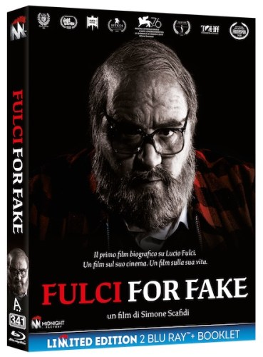 Fulci for fake cover blu ray