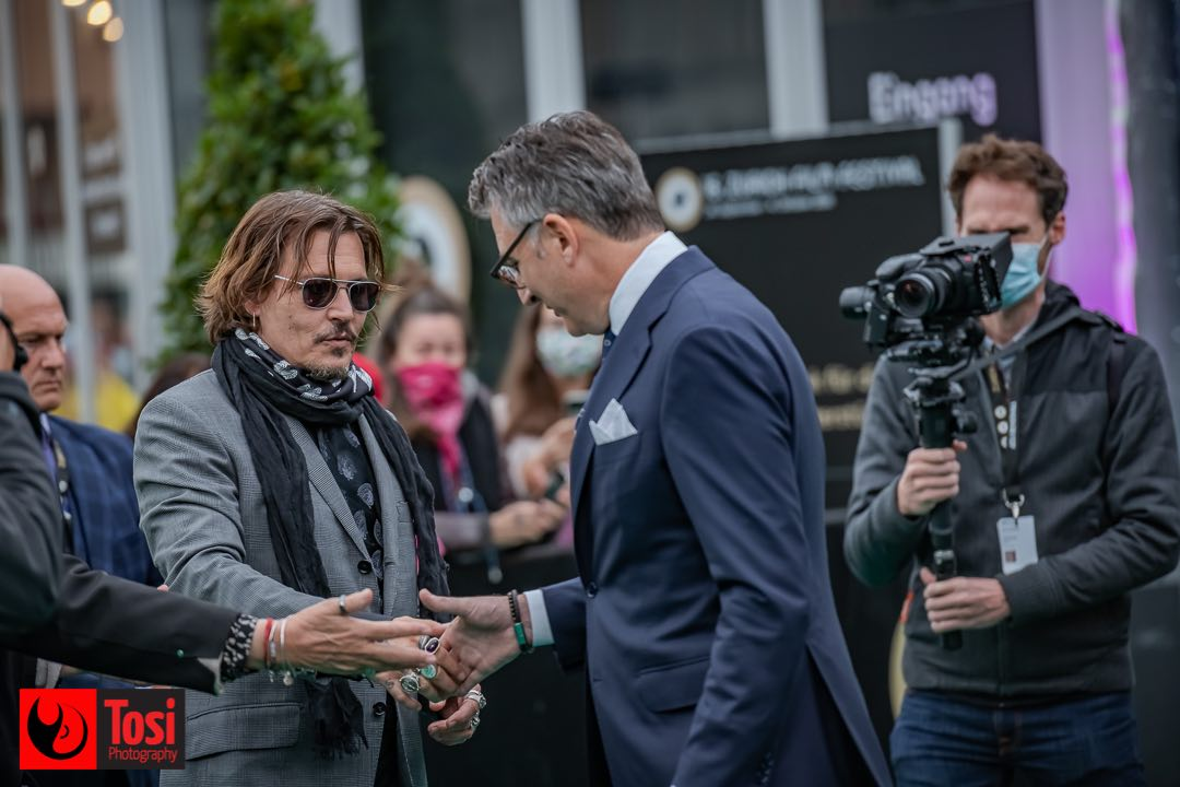 ZFF 2020 - Johnny Depp with ZFF artistic director © Tosi Photography